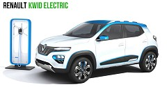 Renault Kwid EV got revealed in leaked Drawings; Production starting Mid-2019