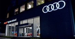 Audi India Inaugurates New Showroom in Hyderabad