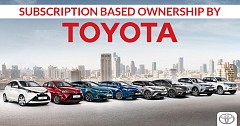 Subscription Based Ownership by Toyota Under Works