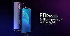Oppo F11, Oppo F11 Pro Launched in India With 48-Megapixel Rear Camera