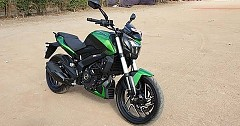 Bajaj Dominar 400 Divulged in New Green Colour; Launch in a Few Days