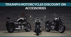 Golden Opportunity to Opt Select Triumph Motorcycles at Heavy Discounts in Delhi