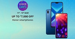 Honor Days Sale on Amazon To Offer Attractive Discounts