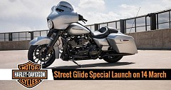 2019 Harley-Davidson Street Glide Special India Launch on 14 March; Priced INR 30.53 lakhs