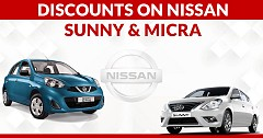 Not To Be Missed Discounts On Nissan Sunny and Micra