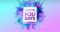 Grab Attractive Discounts During Realme 'Holi Days' Sale
