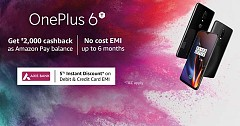 OnePlus 6T Amazon Sale Brings attractive offers For Prospective Buyers