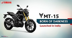 New 2019 Yamaha MT-15 Launched in India; Priced at INR 1.36 lakh