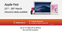 Much Awaited Apple Deal on Amazon! Save the Dates 22nd - 28th March