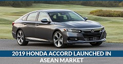2019 Honda Accord Launched with 1.5 L Petrol 190 PS Engine in Thailand