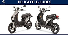 Peugeot E-Ludix E-Scooter Spied Testing on Indian Roads