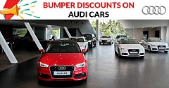 Bumper Discounts Up to INR 14 lakh on Audi Cars in March 2019