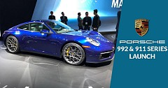 Porsche to Launch 992 series 911 in India on 11th April