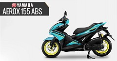 2019 Yamaha Aerox 155 ABS Launched in Thailand
