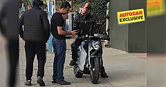 Ultraviolette F77 Electric Bike Spied Testing