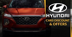 Hyundai Offering Discounts and Offers Up To Rs 2 Lakhs On Its Four-wheeler Range