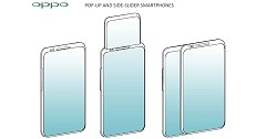 Oppo Patent Images Indicates New Pop-up Display And Side-Slider Smartphones Design