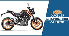 Duke 125 Gets Price Hike of INR 7K, Now Priced at INR 1.25L