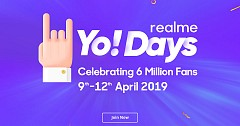 Heavy Discounts And Offers During Realme Yo Days Sale