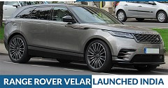 Made-in-India Range Rover Velar Launched at INR 72.47 Lakh