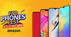 "Amazon brings ""Fab Phones Fest"" Sale starting 11th April"