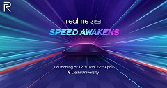 Realme 3 Pro to Launch in India on 22nd April