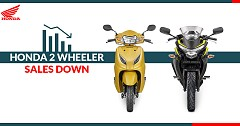 Honda Motorcycle Scooter India Registers Huge Decline in Sales in March 2019