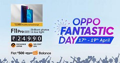 'Oppo Fantastic Days' sale on Paytm and Amazon India