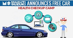 Maruti Suzuki Announces Free Car Health Checkup Camp Till 30th April