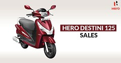 Hero Destini 125: The Second Most Sold 125cc Scooter of India