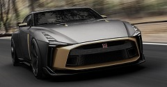 Nissan Showcases GT-R 50th Anniversary Edition and Updated GT-R Nismo