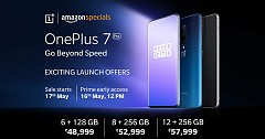 Much Awaited OnePlus 7 Pro officially Launched; all set to go on sale