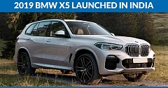2019 BMW X5 Launched in India for INR 72.90 lakh
