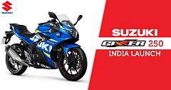 Suzuki Gixxer 250 India Launch on May 20, Price Revealed