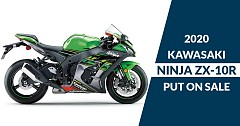 2020 Kawasaki Ninja ZX-10R Put on Sale with a price Tag of INR 13.99 Lakh