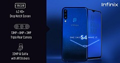 Infinix Launched S4 Smartphone with 32MP AI front camera, X Band 3 in India