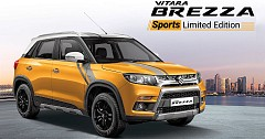 Maruti Suzuki Vitara Brezza Sport Edition Launched at INR 29,990