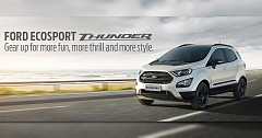 Ford Ecosport Thunder Launched; starts at INR 10.8 Lakh