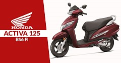 Honda Activa 125 BS6 FI Unveiled, Sale Starts from September 2019