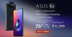 Let us Know All About Asus 6Z With Unique Rotating Camera Setup and SD 855