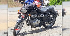 2020 Royal Enfield Classic with BS6 Engine New Exhaust Spotted
