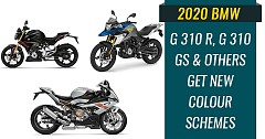 2020 BMW G 310 R, G 310 GS and Others Get New Colour Schemes