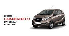 Updated Datsun Redi Go with Safety Features Launched, Priced INR 2.80 lakh