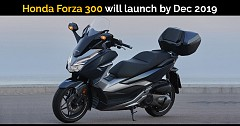 Honda Forza 300 Scooter India Launch Likely by Dec 2019