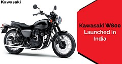 Kawasaki W800 Launched in India, to Rival RE 650 Twins and Triumph Street Twin