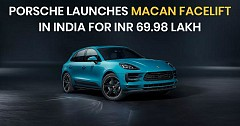 Porsche Launches Macan Facelift at Starting Price of INR 69.98 lakhs
