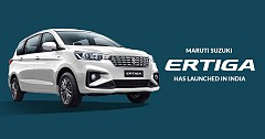 2019 Maruti Suzuki Ertiga Launched with BS-6 Compliant Engine