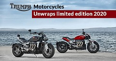 Triumph Motorcycles Unwraps 2020 Rocket 3 R and Rocket 3 GT