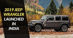 2019 Jeep Wrangler Launched In India; Priced At ₹ 63.94 Lakh