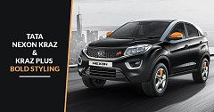 Tata Nexon Kraz and Kraz+ Comes With Bold Styling